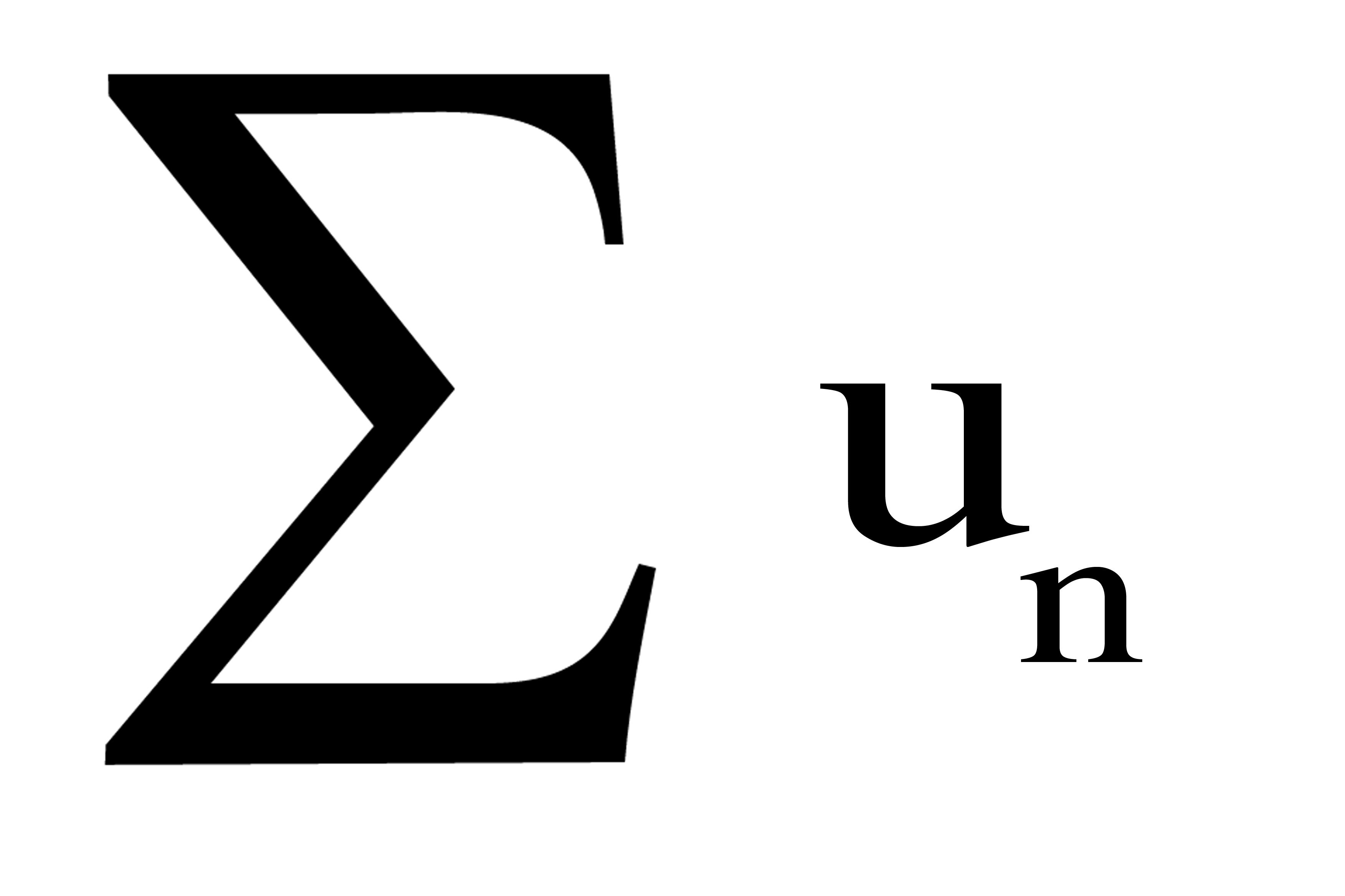L1: Suites et séries